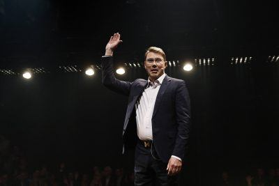 Mika Häkkinen shared his insights about dealing with pressure.