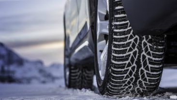 The Nokian WR D4 winter tyre has been optimised for Central European weather conditions.