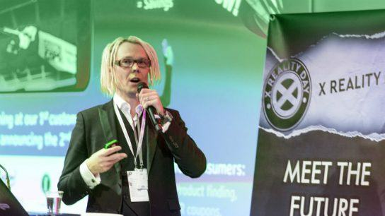 Immersal's VP of business development and co-founder Jufo Peltomaa announced the news at Slush last week.