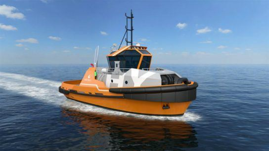 The Wärtsilä HYTug can meet the most stringent environmental demands with its hybrid propulsion system and energy storage using batteries.