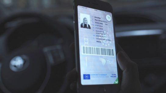 The digital driving license keeps user image and information up to date.