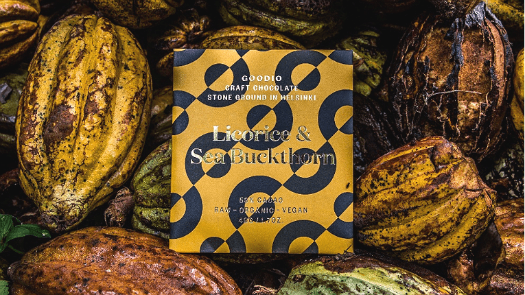 The global palate is growing for Goodio's bean-to-bar chocolate.