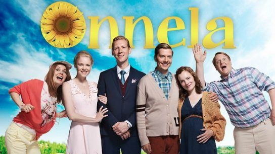 Onnela, airing on C More and MTV3, is a popular Finnish adaptation of Sweden's most successful comedy series, Solsidan.
