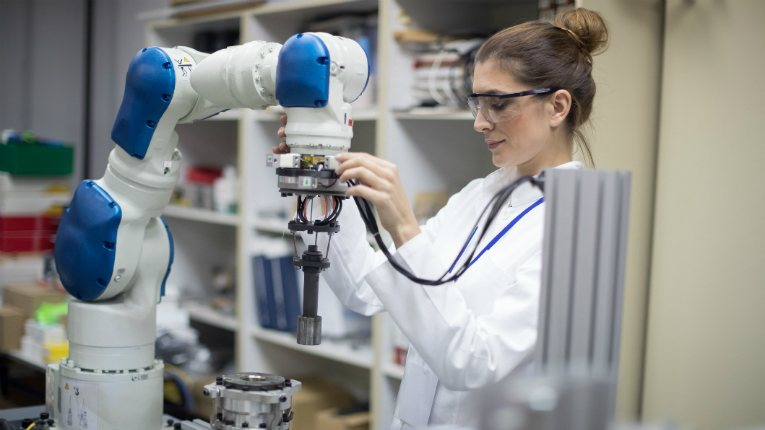 Cobots are single- or double-armed devices that carry out simple tasks to increase efficiency and drive down labour costs.