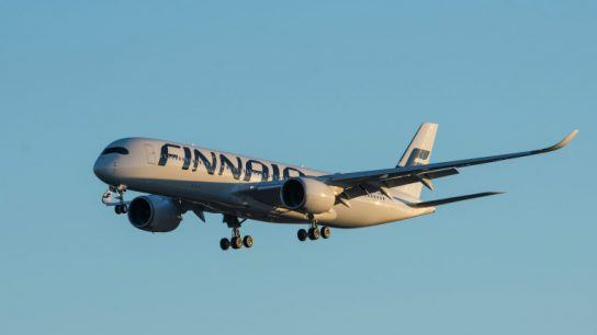 Finnair is flying high in Sweden.