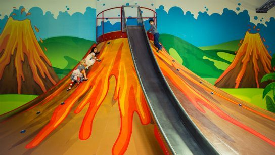 HopLop promotes fun exercise for children and family time at its adventure-themed indoor parks.