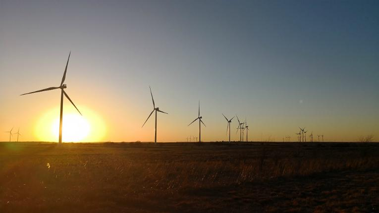 Taaleri's new large capacity wind project is located in an area of Texas with excellent wind power conditions.