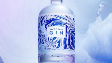 The unique taste of the gin is created when wild Arctic bilberries are combined with other Arctic botanicals and fresh spring water.