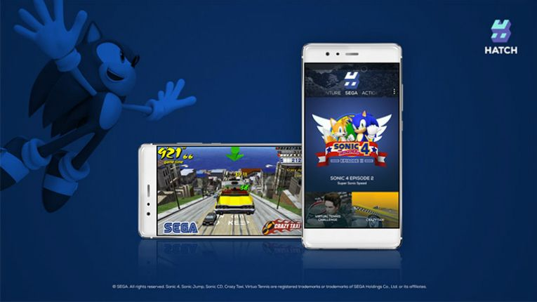 SEGA's Crazy Taxi and Sonic 4 Episode 2 are now available on Hatch's cloud gaming mobile app.