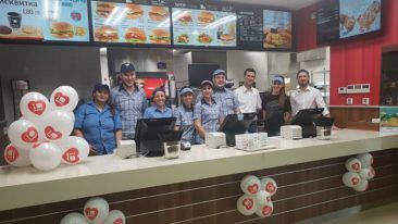 Hesburger's latest restaurant in Bulgaria was opened in the city of Burgas.