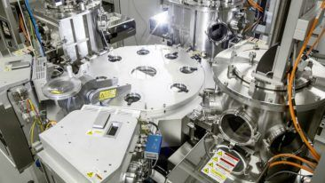 The PICOSUN P-300F system is Picosun's flagship solution for the sub-300-mm manufacturing of semiconductor components.