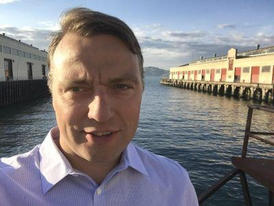 """""""Finland is a small market, but it is a great place to innovate and develop services,"""" says Harri Pesola."""