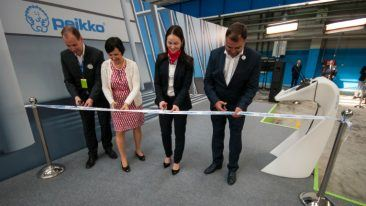 The opening ceremony of Peikko's new factory in St. Petersburg was held on 18 April.
