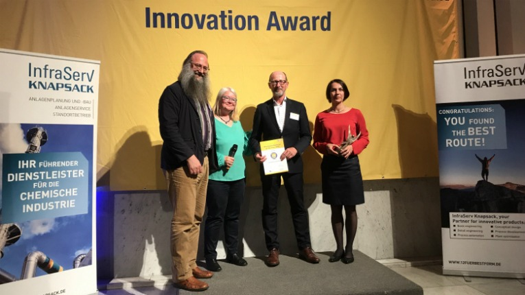 Arctic Biomaterials received the Innovation Award during the 11th International Conference on Bio-Based Materials held in Cologne, Germany.