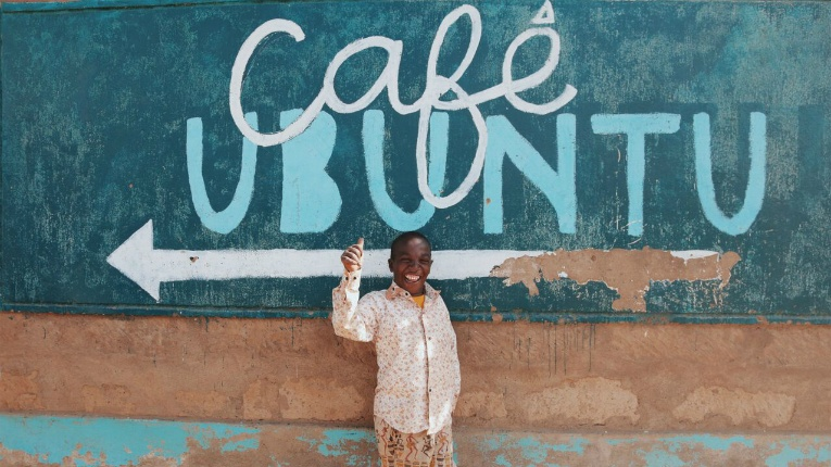 Café Ubuntu is an actual café in Maai Mahiu. Its namesake chocolate will support children and women in the Kenyan settlement.