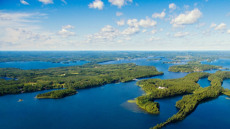 The land of 188 000 lakes and the world's freshest air.