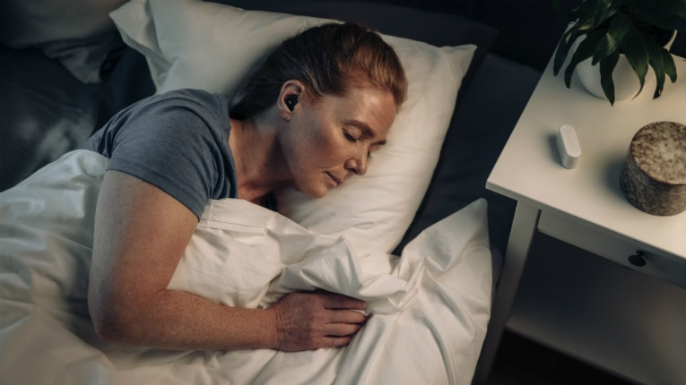 QuietOn Sleep earplugs are optimised for cancelling out snoring and their small size and soft ear cushions makes them ideal for use while sleeping.