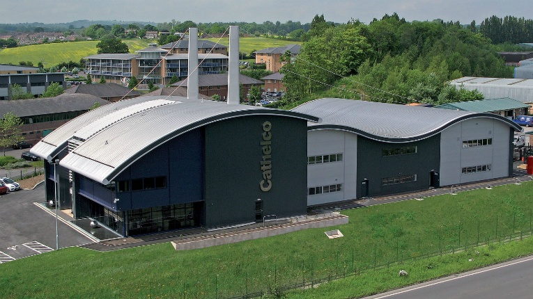 The Cathelco factory is located in Chesterfield, UK.