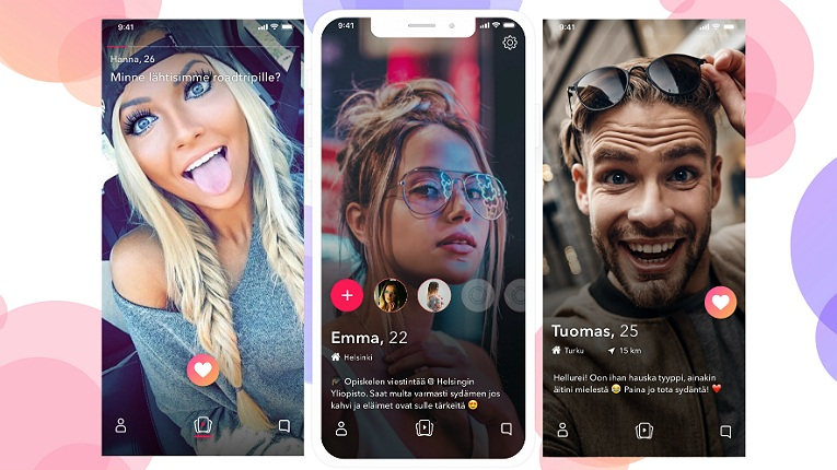 "According to Klip co-founder Juho Oranen, the service ""takes the entire dating segment in a more social and realistic direction, limiting the differences between virtual and face-to-face meetings""."
