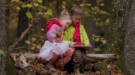 Why should children look like adults! Pomenia adds magic and play to kidswear.
