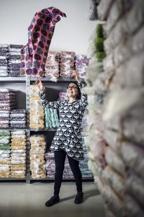 In 2013, Anniina Isokangas received a 300-metre roll of the first industrially manufactured PaaPii Design fabric. At the time, she was confident she could never sell it all – but was wrong.