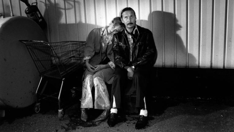 In Aki Kaurismäki's 1994 black and white comedy Take Care of Your Scarf, Tatiana, two shy middle-aged men go on a road trip and chance upon Tatiana and Klavdia who need a lift to the harbour.