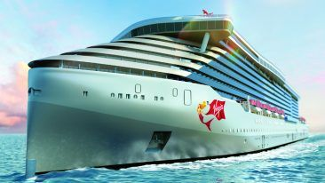 Wärtsilä will provide optimised maintenance for the upcoming Virgin Voyages cruise ship fleet. Scarlet Lady will take to the seas in 2020.