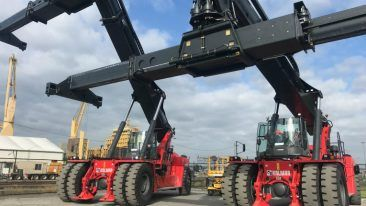 Kalmar's order from Australian Container Freight Services comprises two reachstackers and three empty container handlers.