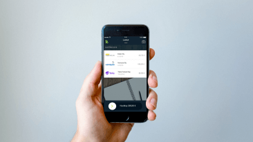 Klever's mobile app keeps invoices in check.