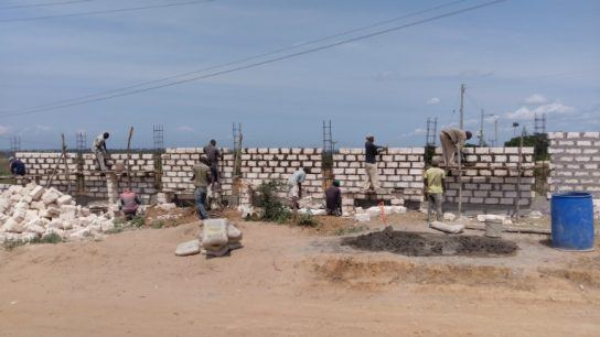Land for the plant has been acquired and construction work has begun.