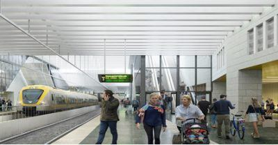 Altogether, work on Gothenburg's Central Station will extend over eight years.