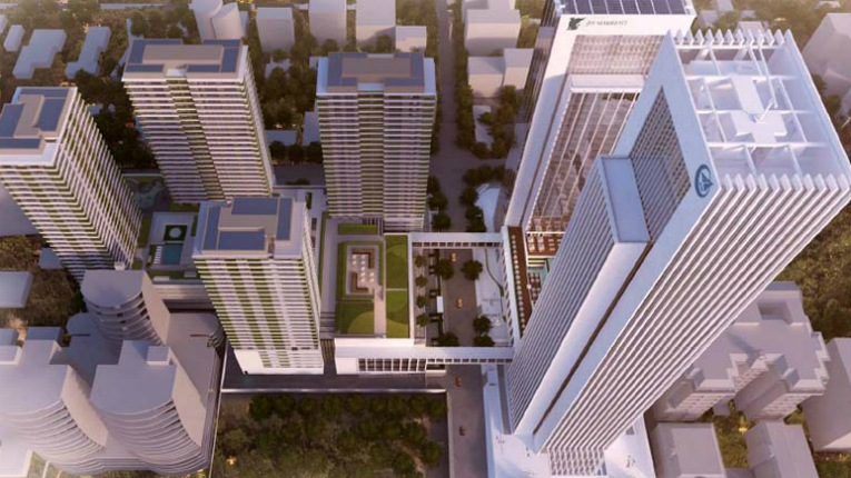 KONE will supply elevators to a high-rise development in Nairobi, Kenya, which includes an office tower, commercial space, four residential towers and a luxury hotel.