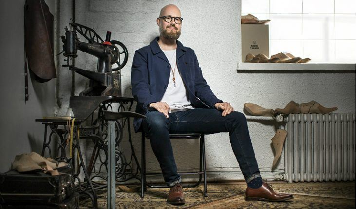 Janne Lax, the founder of Saint Vacant, says his shoes have a number of innovative features that provide both comfort and support.