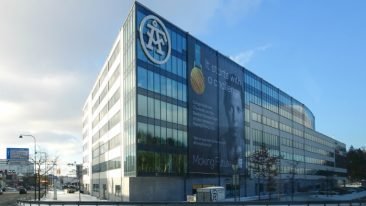 Upon completion of the merger, the new head office of ÅF-Pöyry will be located in Stockholm, Sweden.
