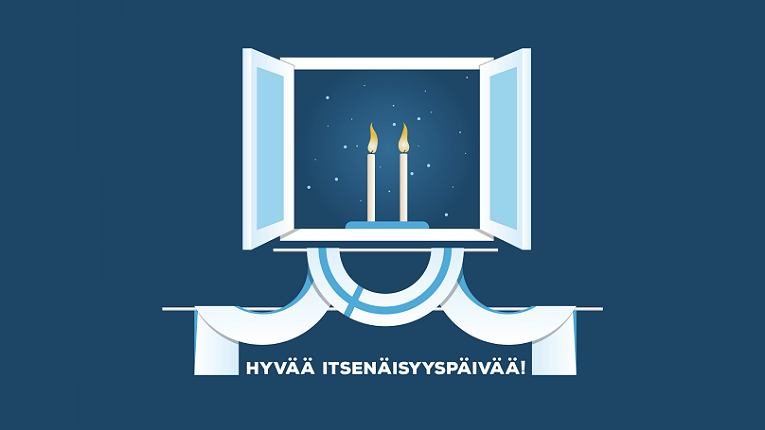 Independence Day was first celebrated in Finland in 1917.