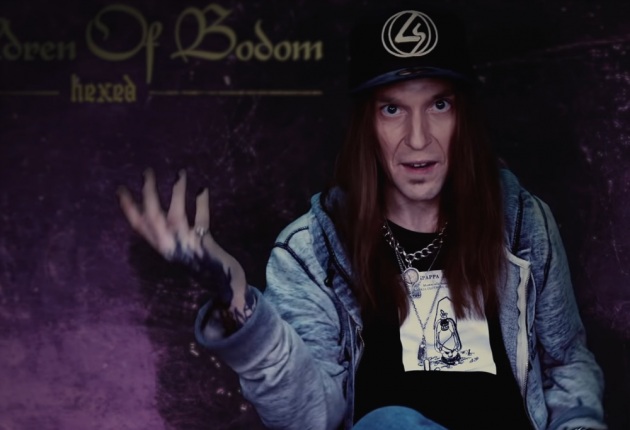 """Alexi from Children Of Bodom discussed new track """"Under Glass And Cover"""". (Photo YouTube/Screenshot)"""