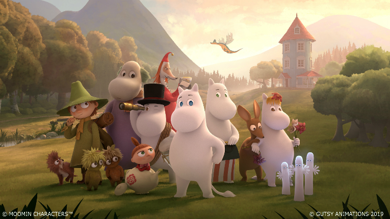 The Moomins are back - and are poised to reach audiences worldwide.