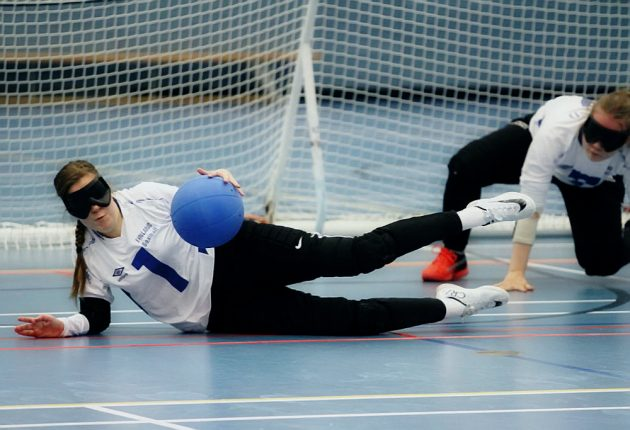 The Finnish women's goalball team now has two chances to secure qualification for the Tokyo 2020 Paralympic Games. (Photo: Twitter)