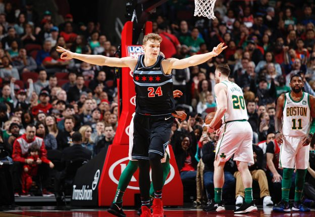 Finnish NBA star Lauri Markkanen is out for the rest of the season. (Photo: Twitter)