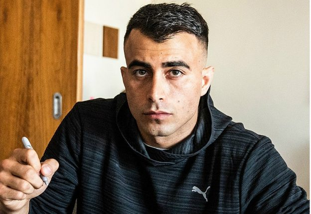 Mixed martial artist Makwan Amirkhani sees a rosy future ahead for the sport in Finland. (Photo: Twitter)