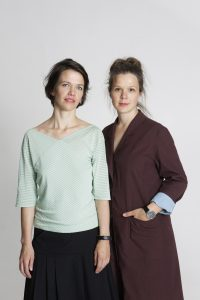 Mila Moisio (left) and Kaisa Rissanen have both grown up in families that encouraged DIY.