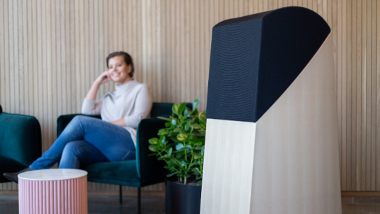 Air0's air purifiers stand out from competition with a unique, highly efficient purifying technology and eye-pleasing design.