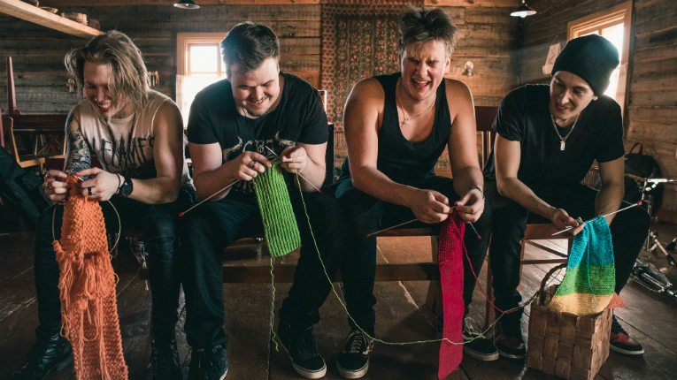 Heavy metallers with knitting needles kicks off this week's entertainment wrap.