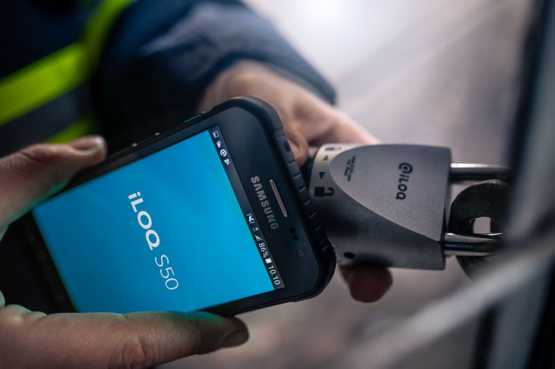 iLOQ has developed the world's first self-powered digital smart locking systems.