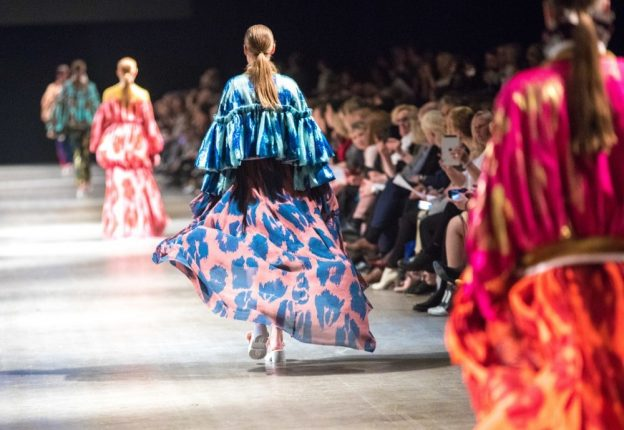 Aalto University students turned heads at their fashion show Näytös19 in Helsinki. (Photo: Screenshot/YLE Areena)