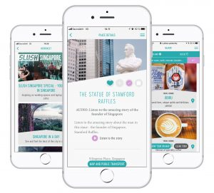 Tripsteri App features travel tips, immersive tours, bookings, maps and more.