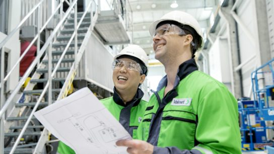 Valmet has received orders from China and Germany this past week.
