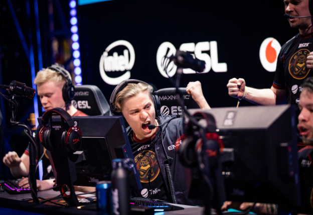 Aleksib from ENCE makes a sturdy bid for the world's best CS:GO in-game leader. (Photo: ESL/Adela Sznajder)
