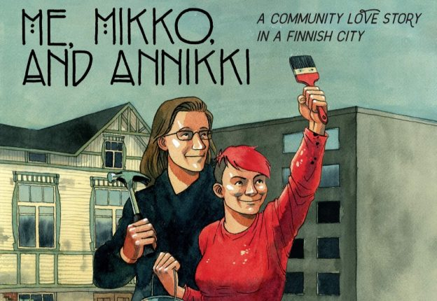 Finnish comic artist Tiitu Takalo has signed a publishing deal to tell the inspiring story of her childhood district, Tammela, to international audiences. (Photo: Tiitu Takalo)