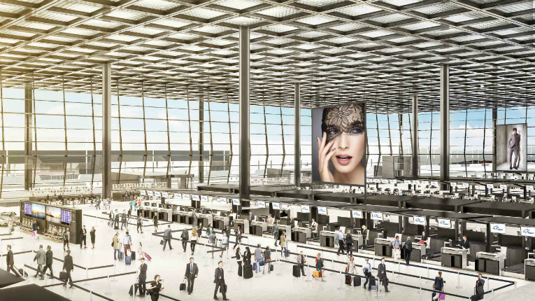 Caverion has won a 30 million-euro contract in the expansion of Frankfurt Airport.